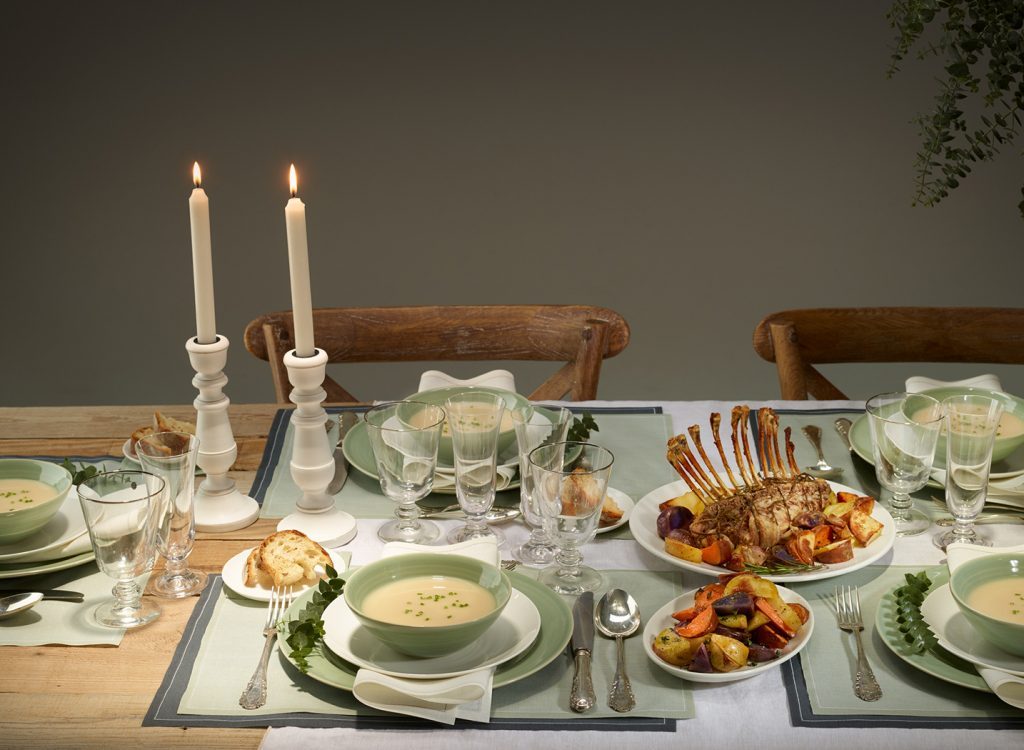 Ideas para la decoración de mesas de Navidad