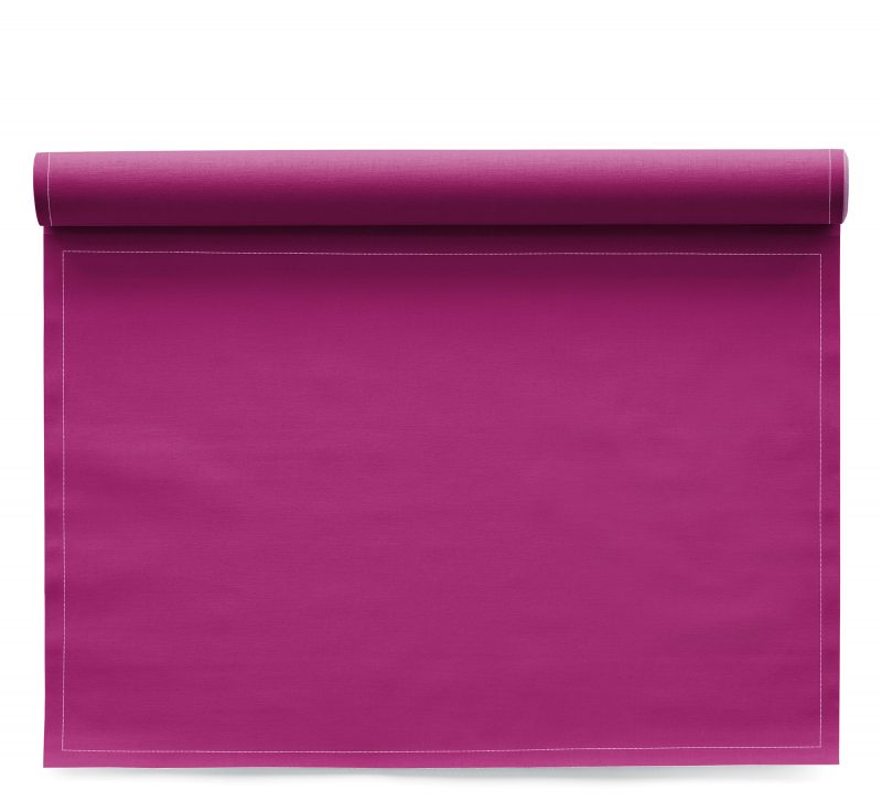Sets de table en tissu Basic Fuchsia 48x32cm
