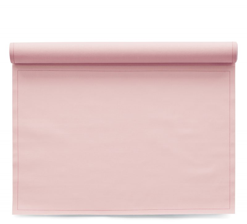 Sets de table en tissu Basic Pink 48x32cm
